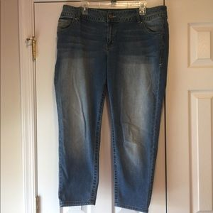 Lane Bryant jeans - ankle length